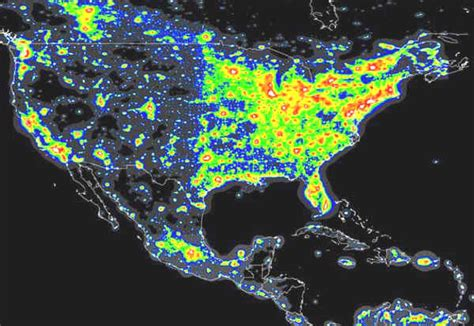 sky map texas sht atlas shows sky light pollution