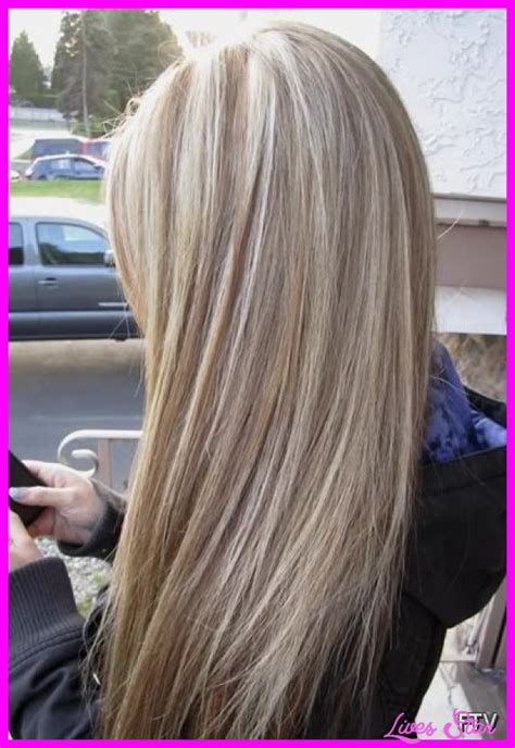 pictures of blonde hair with low lights brown lowlights in blonde hair livesstar com