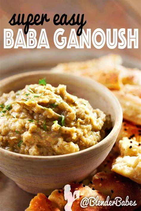 Wedding Crashers Baba Ganoush easy baba ganoush recipe blender
