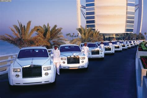 Burj Al Arab Inside dubai s burj al arab hotel has added four more rolls