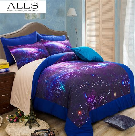 Galaxy Bed Set by Galaxy 3d Bedding Set Universe Outer Space Themed