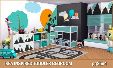 sims 3 toddler bed ikea inspired toddler bedroom sims 4 custom content