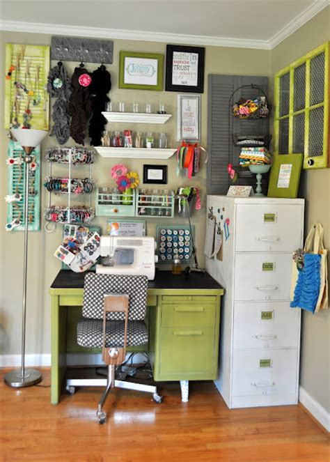 organized desk space desk organizing craft areas pinterest craftaholics anonymous 174 craft room tour with johnny in a