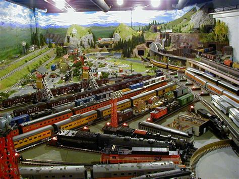 layout rail mth trains n scale