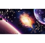 HD Hintergrundbilder Explosion Abbruch Schutt Planeten