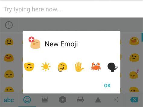 emoji oppo swiftkey updated for marshmallow adds new emoji