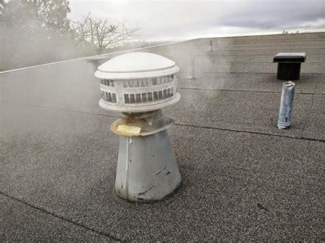 bathroom vent to roof repairing roof leak from bathroom vent doityourself com