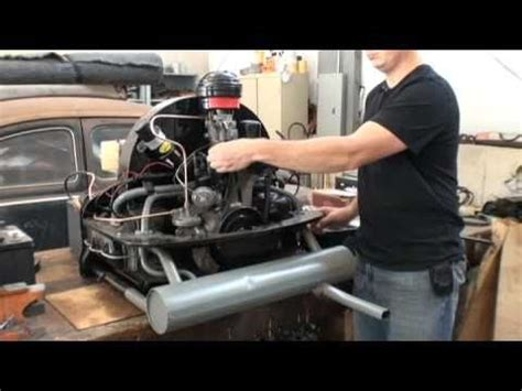 how to start benching vw 1600 motor rebuild part 4 funnycat tv
