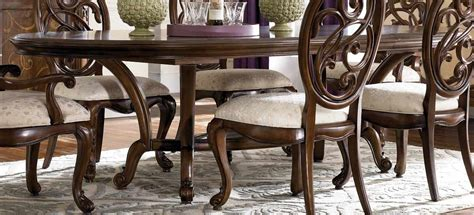 mcclintock dining room furniture american drew mcclintock couture renaissance dining table 908 744 homelement