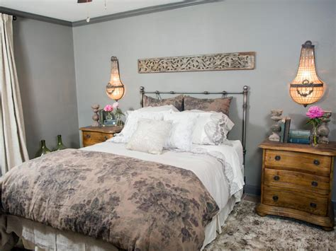 Romantic Master Bedroom Decorating Ideas hgtv fixer upper brick house is old world charm for newlyweds