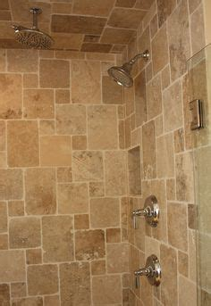 Bathroom on pinterest granite tops travertine tile and rain shower