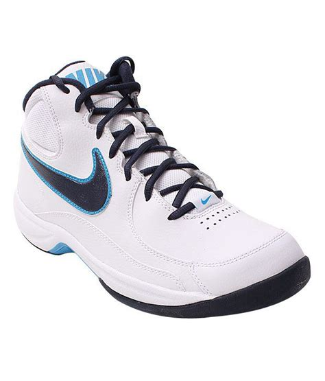 nike blue and white basketball shoes nike overplay white blue basketball shoes buy nike