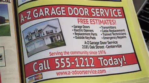 Garage Door Marketing Spotting Marketing From Garage Door Repair Scammers