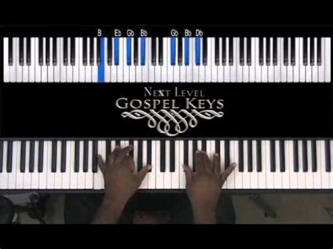 gospel tutorial keyboard gospel keyboard lessons db substitution movement youtube