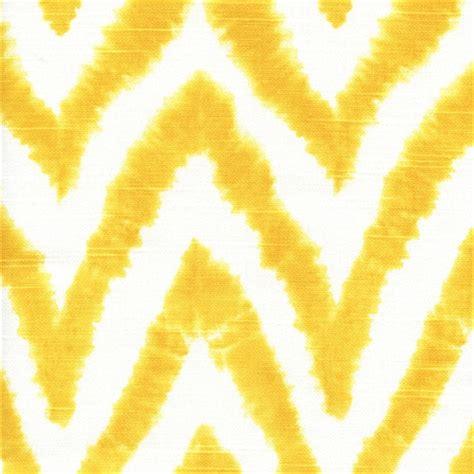 diva ikat curtain diva corn yellow chevron stripe ikat slub by premier