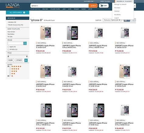 Hp Iphone 6 Plus Lazada iphone 6 now available at lazada philippines tech news philippines
