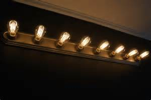 edison vanity lighting and easy vanity light update plus black paint reveal