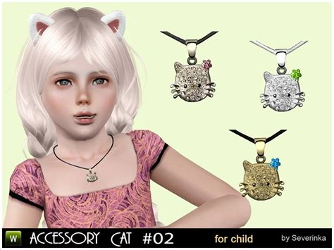 sims 3 toddler accessories severinka s accessory kitty for kids