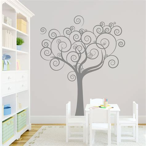 whimsical tree wall decal