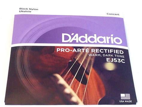 D Addario Pro Arte Strings - d addario ukulele strings ej53c uke pro arte reverb