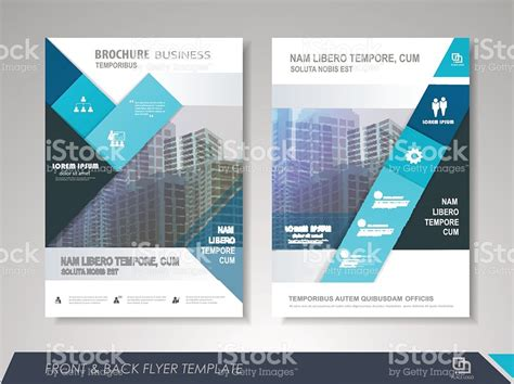 business brochure design template stock vector more