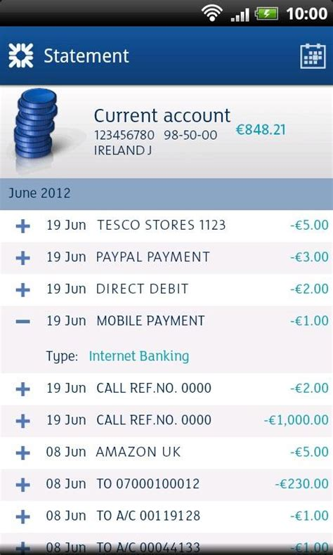 ulster bank anytime banking republic ireland ulster bank roi android apps on play