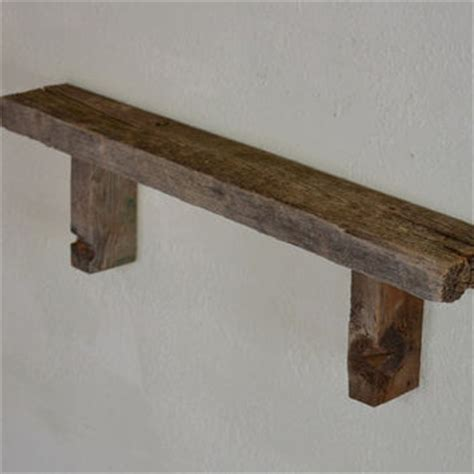 barn wood shelves wall decor eco chic barn wood wall shelf 26 quot wide from barnwood4u