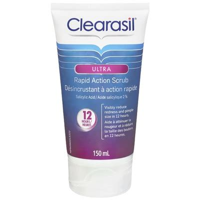 What Is Ultra Rapid Detox In Canada by Clearasil Ultra Rapid Scrub