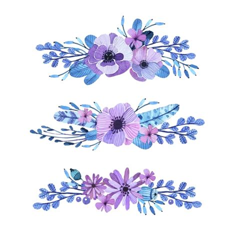 decorative flowers bloom vectors photos and psd files free download
