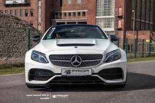 prior design make the mercedes amg c63 coupe look furious