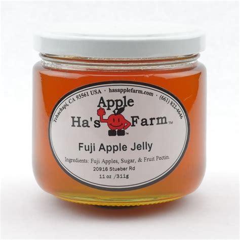 Jam Apple Original fuji apple jelly ha s apple farm