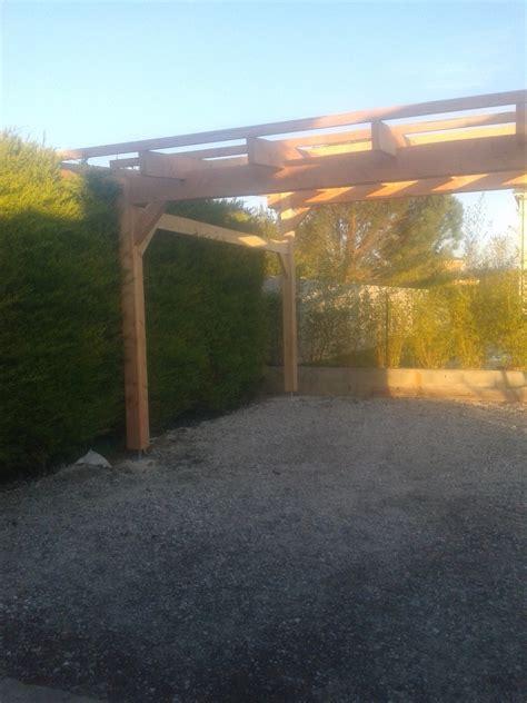 carport 6x6m carport de 6x6m hospice construction fr