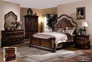 4 200 alexandria 5 pc bedroom set bed dresser
