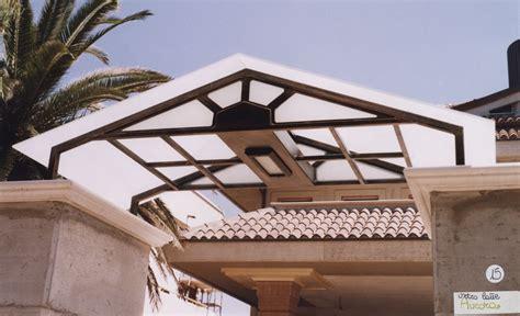 tettoia vetro il meglio di potere pensiline in legno e vetro ferro