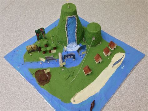 How To Make A Paper Mache Island - 43 best images about projects on