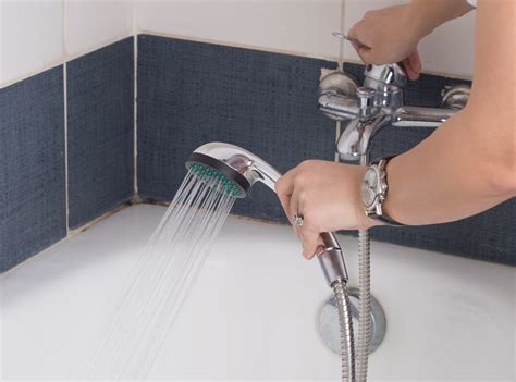how to install a shower head in a bathtub how to replace a shower head 8 steps with pictures