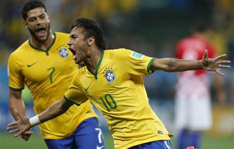 Brasil Jogos Brasil Vence Cro 225 Cia Por 3 A 1 No Jogo De Abertura Da Copa