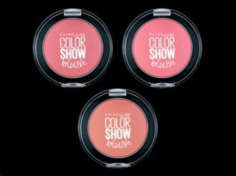 Maybelline Blush On Color Show harga maybelline color show blush murah indonesia
