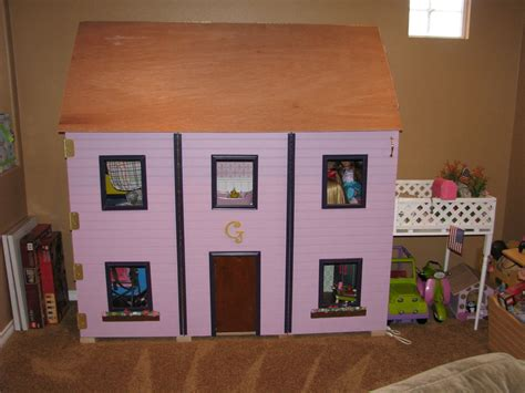 how to build a american girl doll house american girl dollhouse 18 quot doll sized plans for