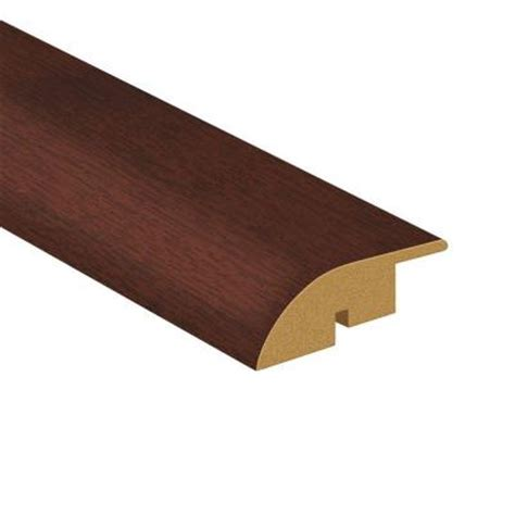 home depot chair rail molding toptile 94 5 in x 1 77 in rosewood woodgrain large