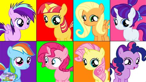 my pony color my pony color mane 6 filly transforms mlp