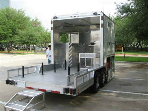 dog house trailers atc aluminum dog house service custom trailer advantage trailer
