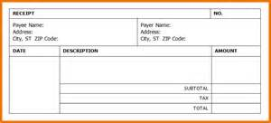 Reciept Template by Reciept Template Invoice Receipt Template Png Scope Of