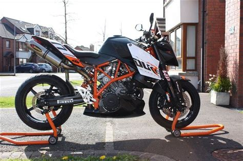 Felgenaufkleber Akrapovic by Bike Of The Day Ktm 990 Superduke R Mcn