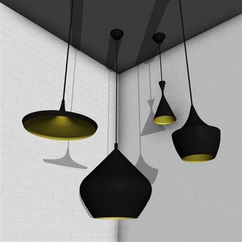 Revit Light Fixture Families Tom Dixon Beat Lights 10444 5 00 Revit Families Modern Revit Furniture Models The Revit