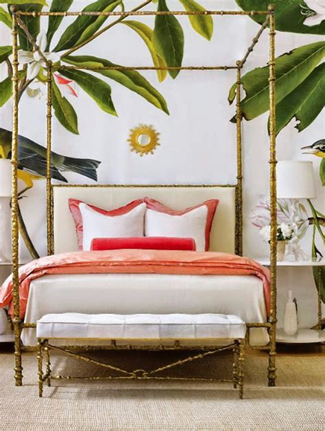 bed trends 2017 summer trends 2017 bedroom inspiration with tropical design