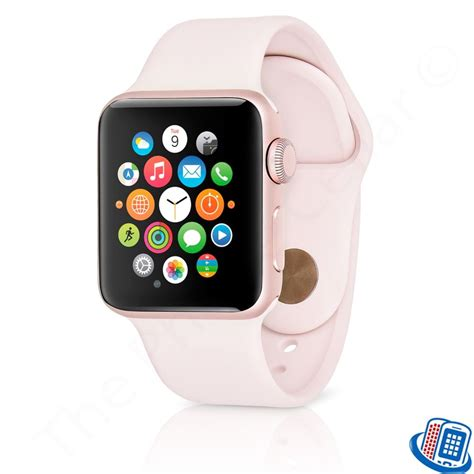 Apple Series 3 38mm Gold Aluminium Pink Sport series 2 apple 38mm gold aluminum pink