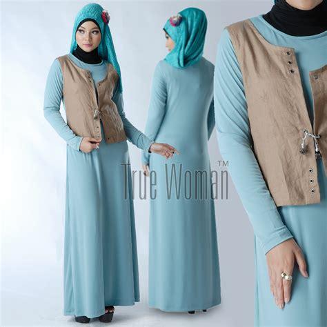 Gamis Baju Pakaian Wanita Muslim Karenina Syari Berkualitas gamis katun gamis syari jilbab syari syari