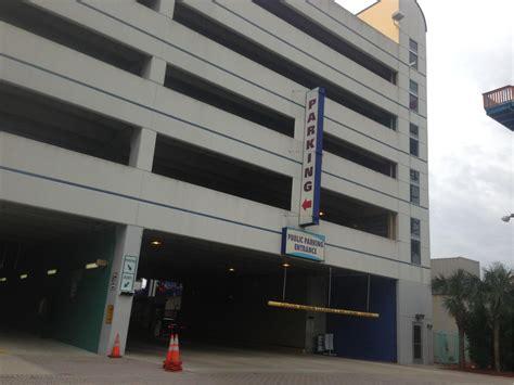 Parking Garage Daytona center parking in daytona parkme