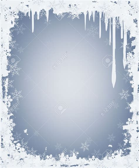clipart neve snow clipart frame pencil and in color snow clipart frame